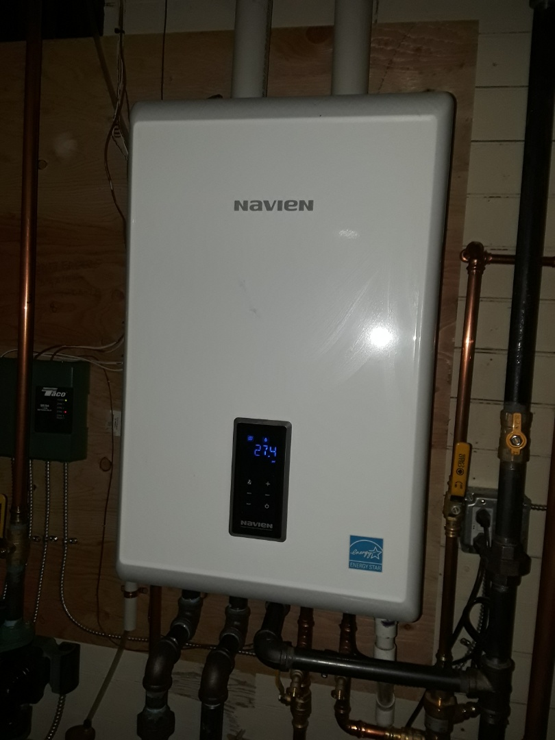 Fitchburg, MA - Clean and check Navien gas boiler