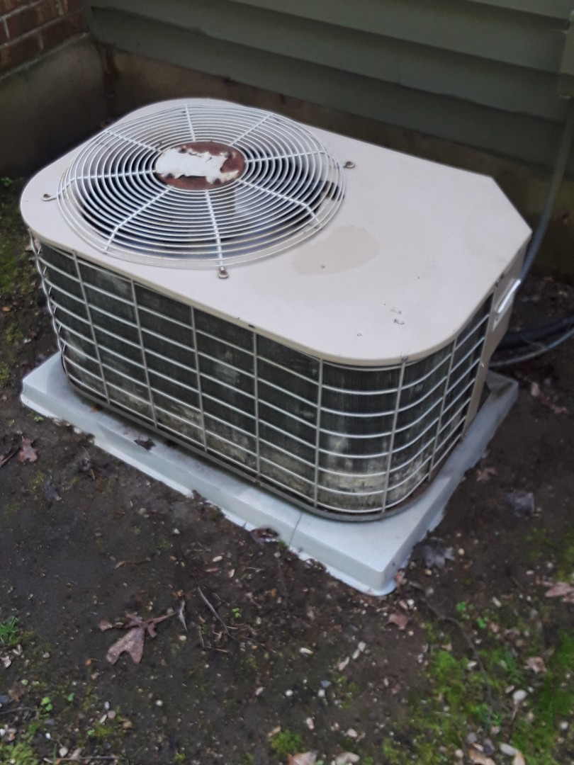 Grafton, MA - Clean and check York AC unit