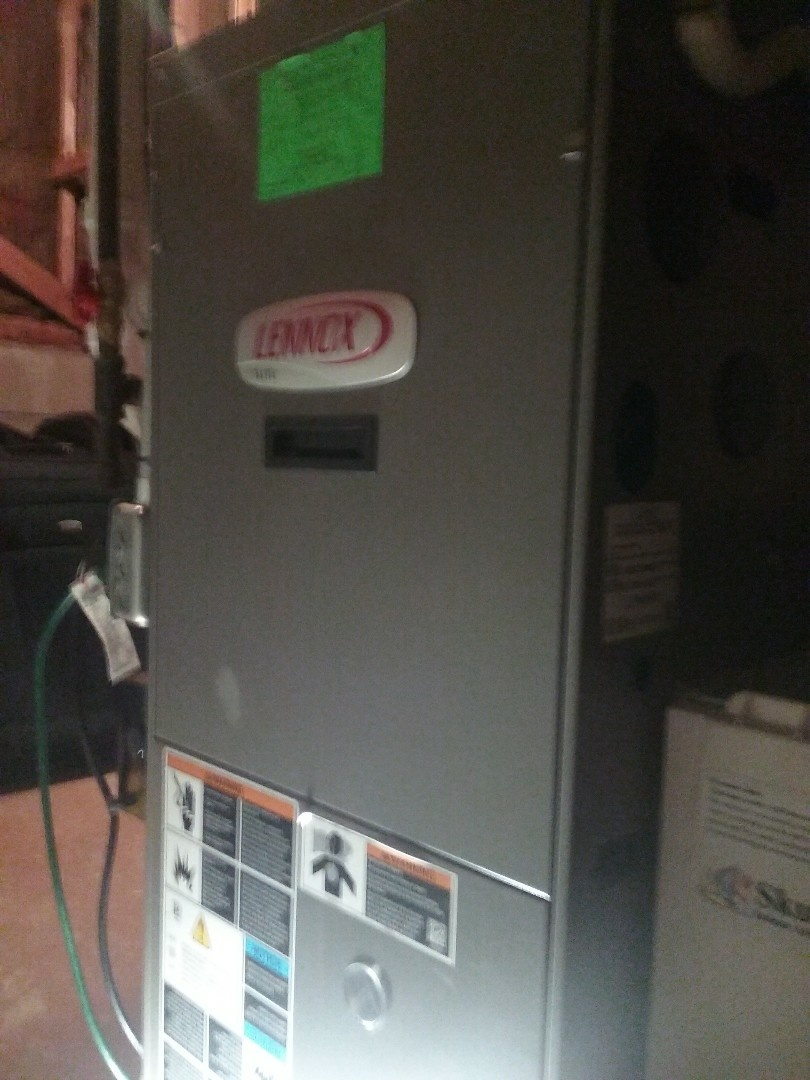 Millbury, MA - Service on a lennox gas air syste