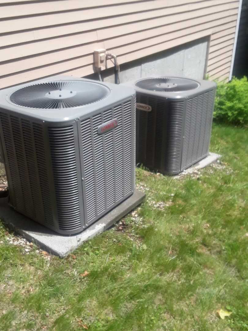 Harvard, MA - Clean and check Lennox AC units