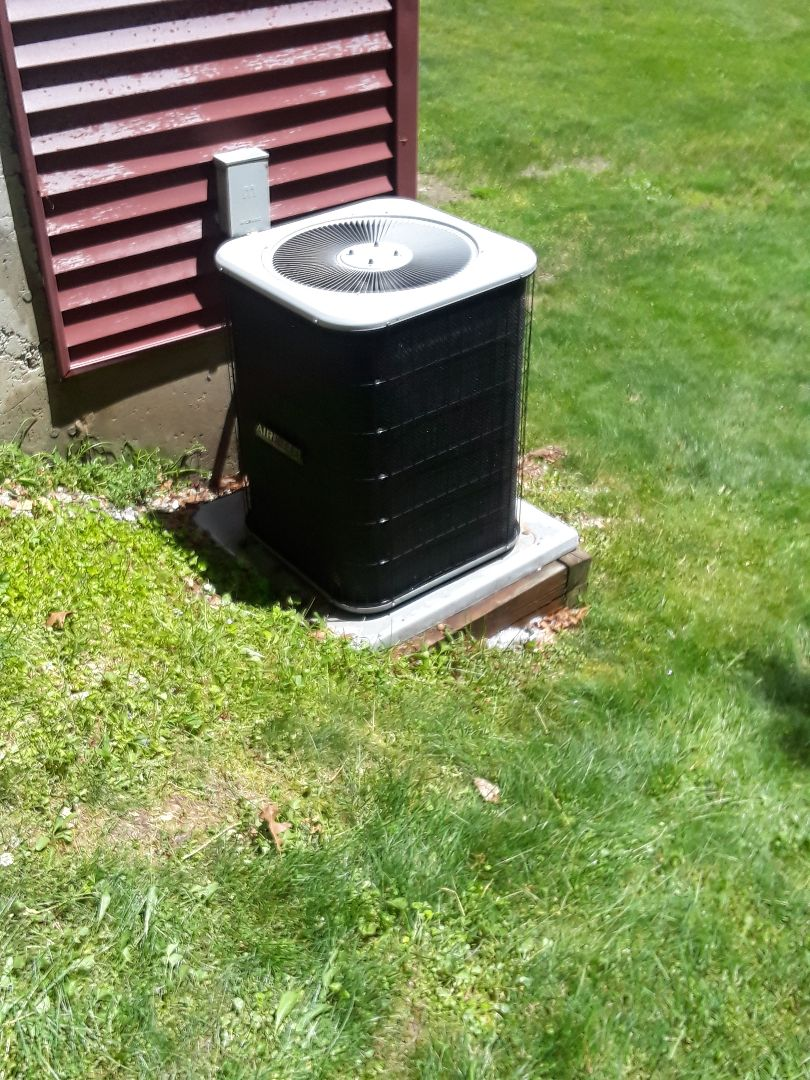 Brookfield, MA - Clean and check AireFlo AC unit