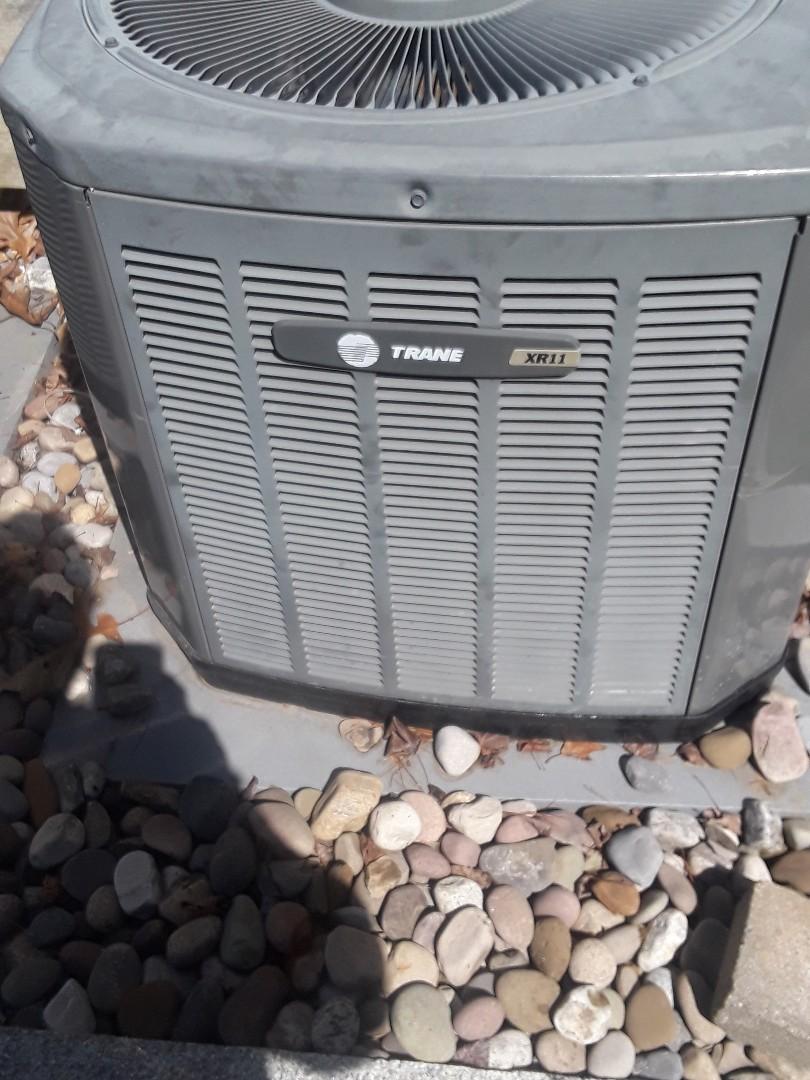 Grafton, MA - Repair on a Trane AC unit