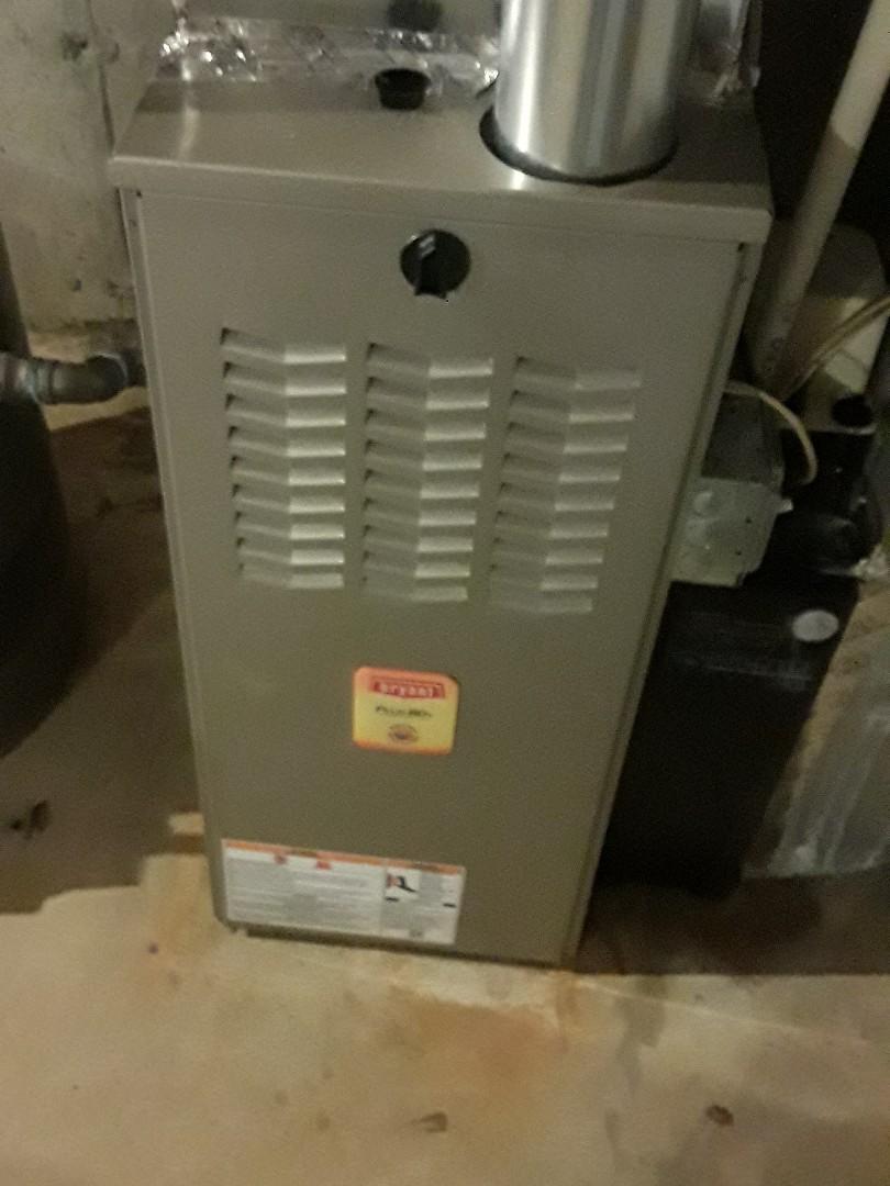 Leominster, MA - Repair on a Bryant AC unit