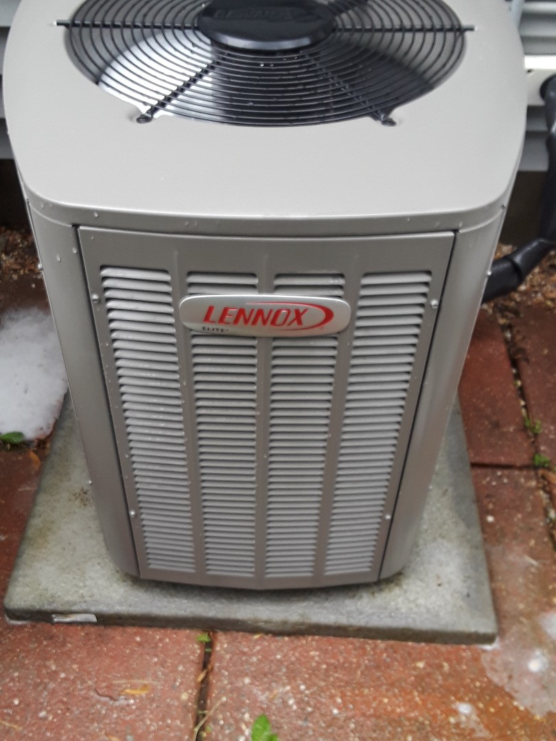 Leominster, MA - Clean and Check Lennox AC unit