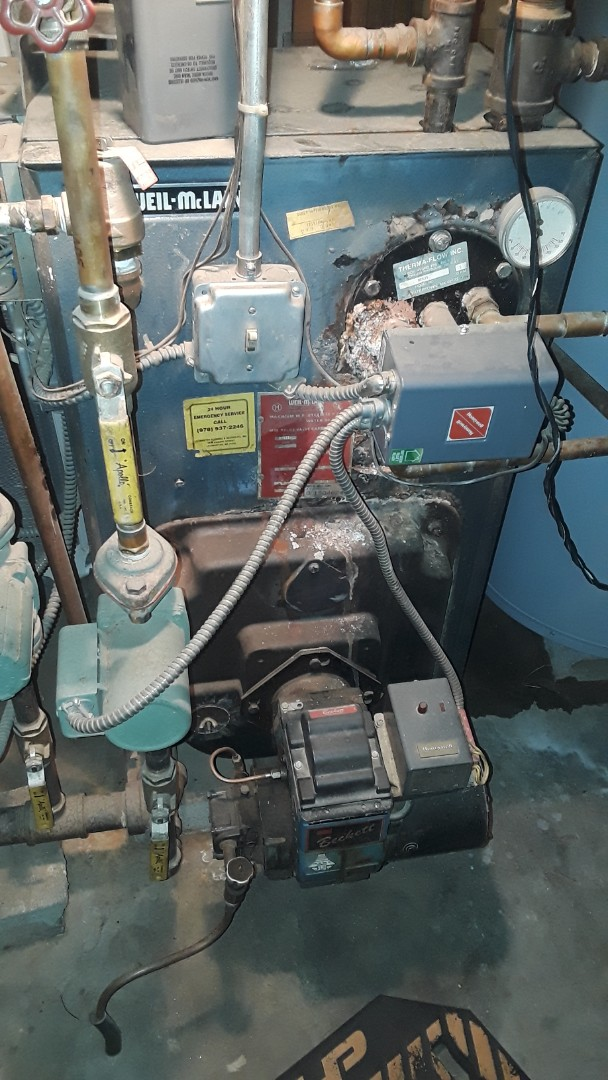 Sterling, MA - Repair on a Weil McLain oil boiler