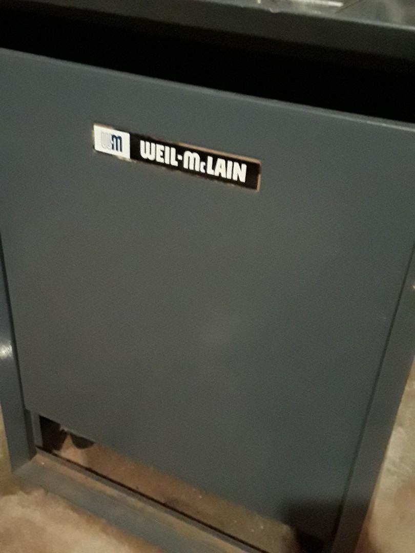 Shrewsbury, MA - Heat repair on a Weil McLain gas boiler