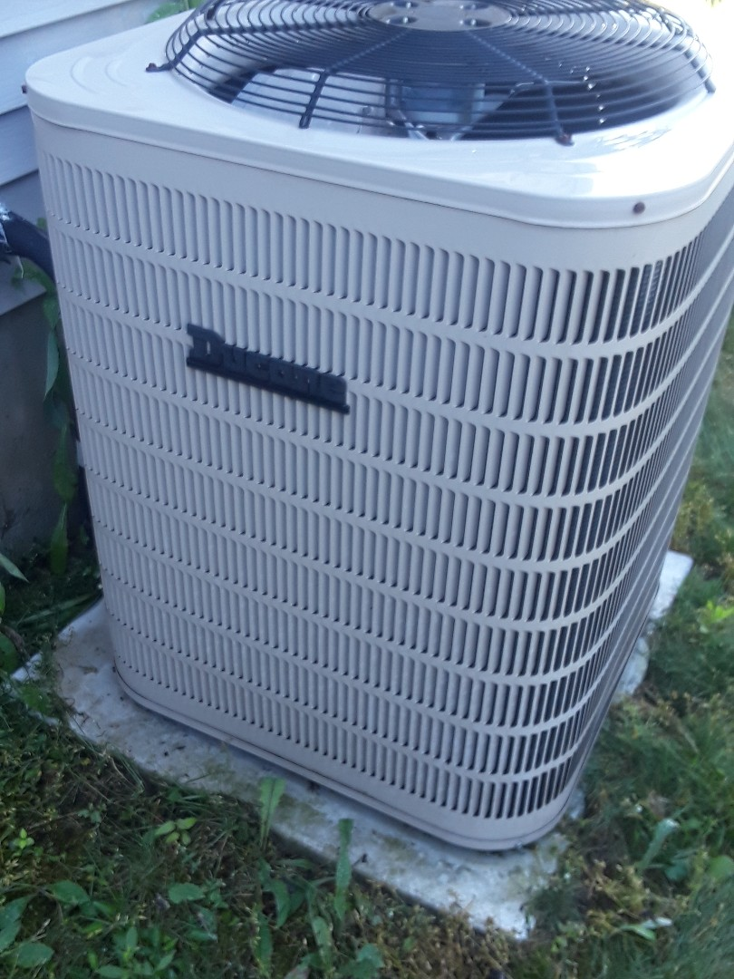 Leominster, MA - Clean and check Ducane AC unit