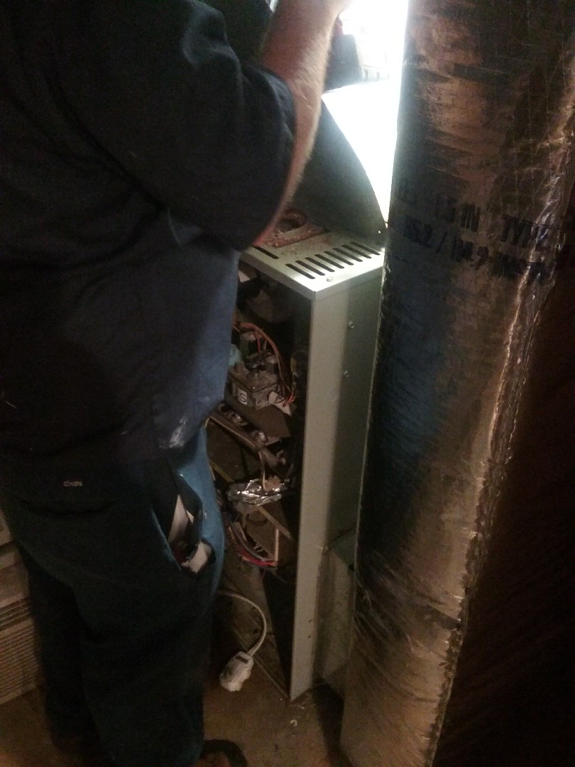 Worcester, MA - American Standard gas air system
