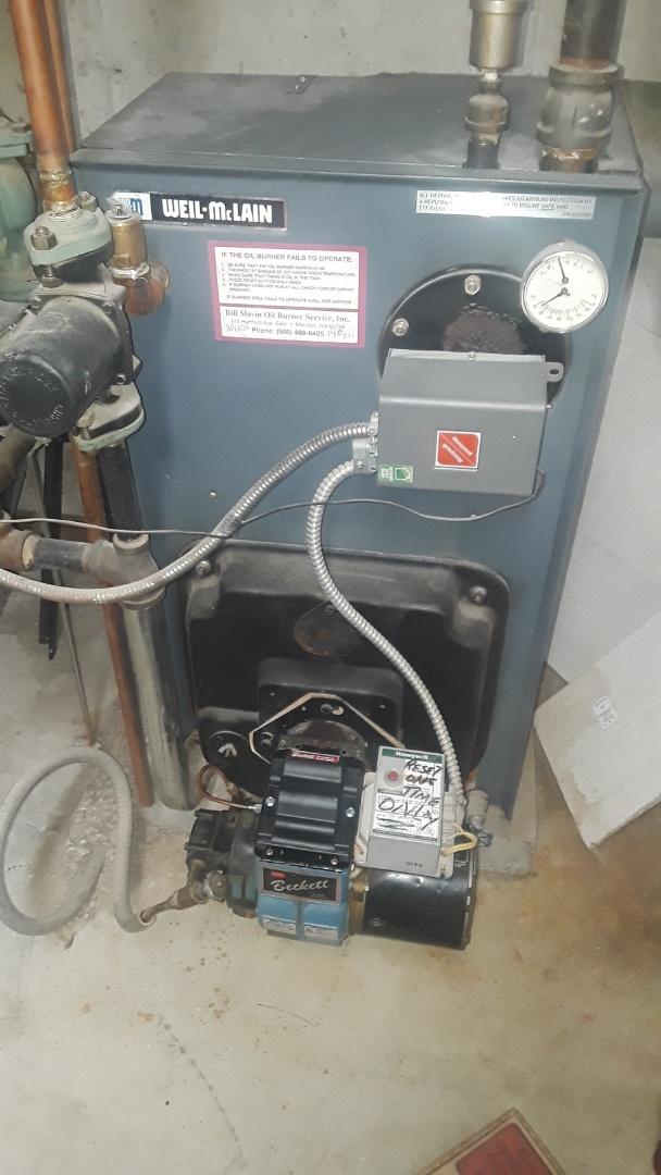 Westborough, MA - Repair on a Weil McLain heating unit