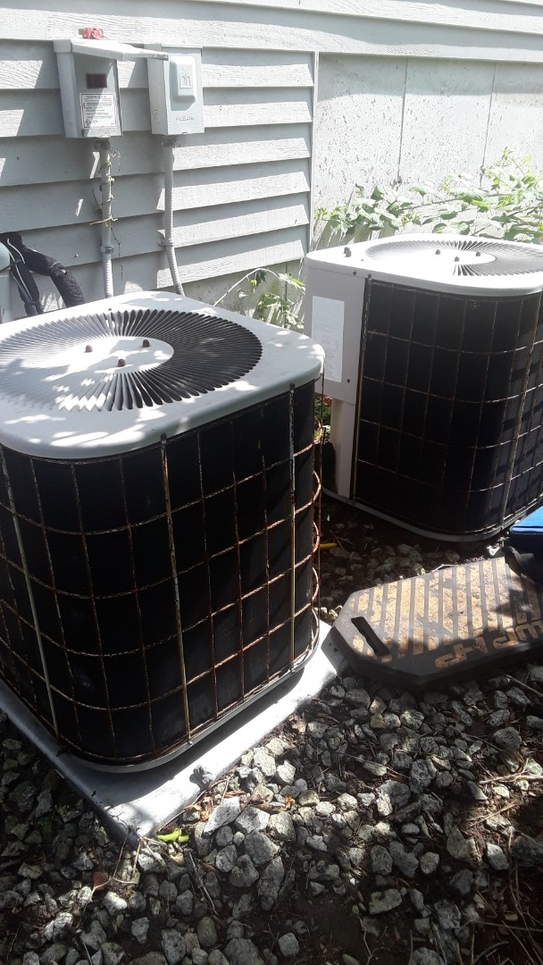 Worcester, MA - Repair on a Concord AC unit