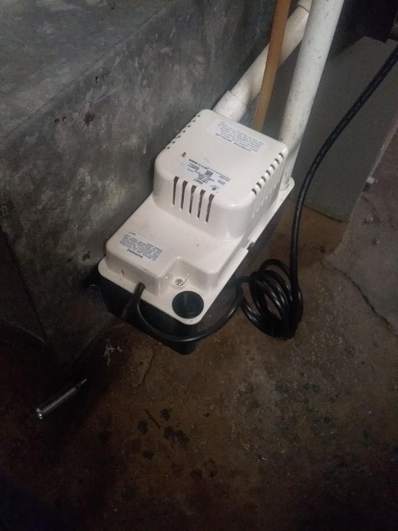 Worcester, MA - Service on a condensate pump