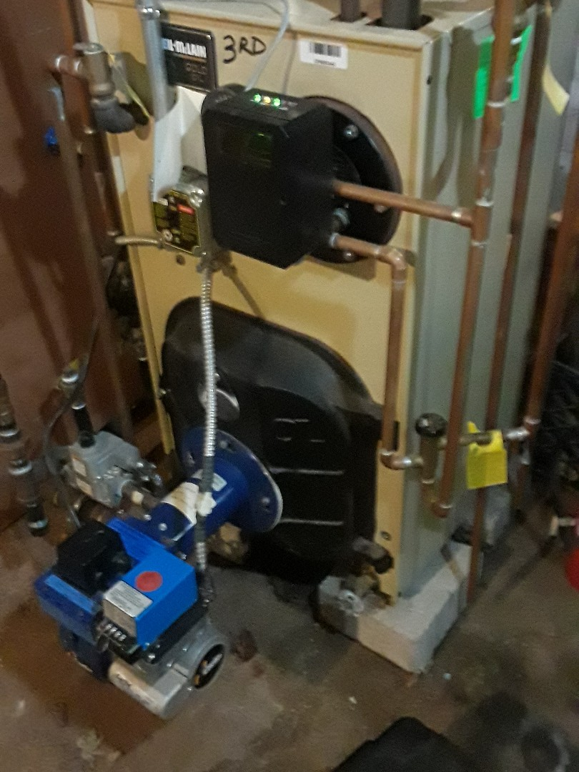 Worcester, MA - Repair on a Weil McLain gas conversion boiler