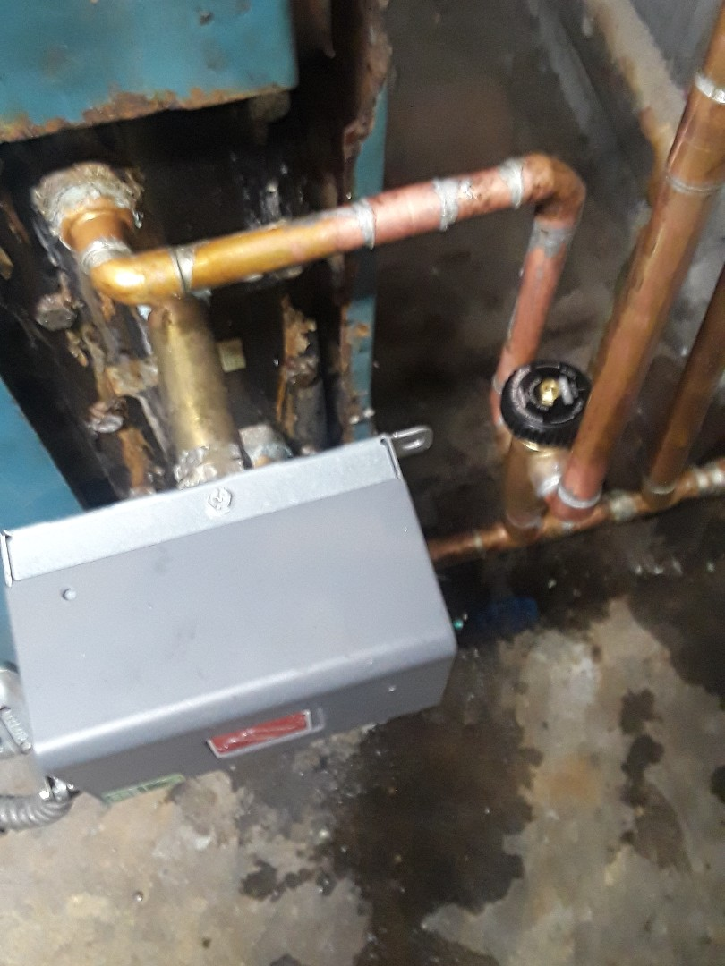 Tankless mixing valve replacement