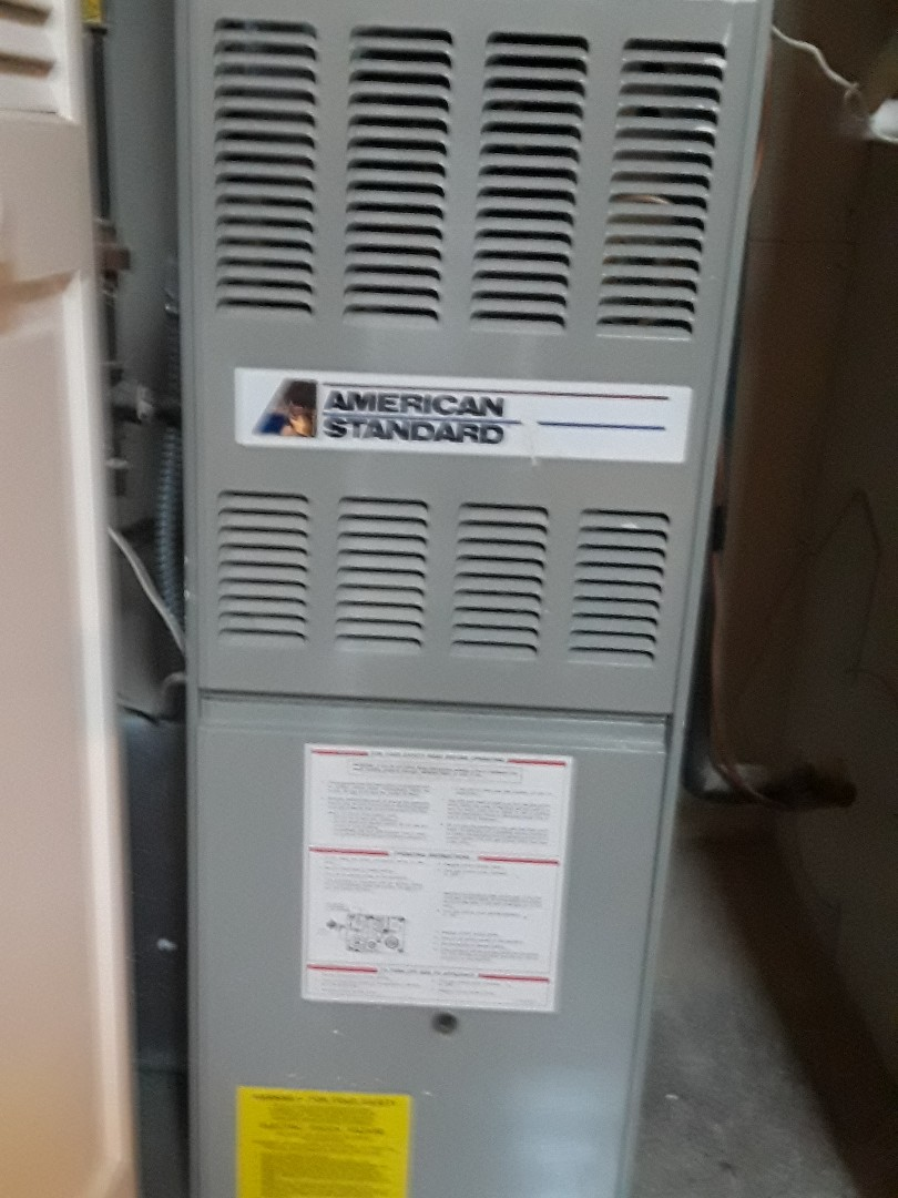 American Standard gas furnace cleaning