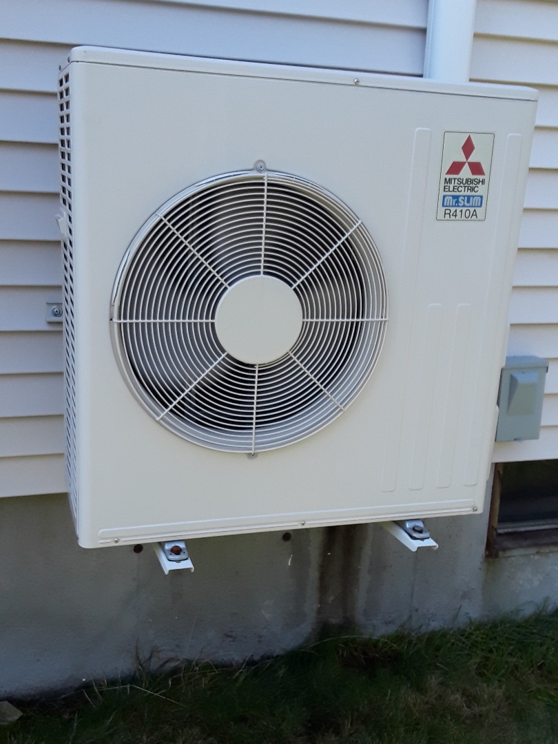 Clean and check Mitsubishi AC unit