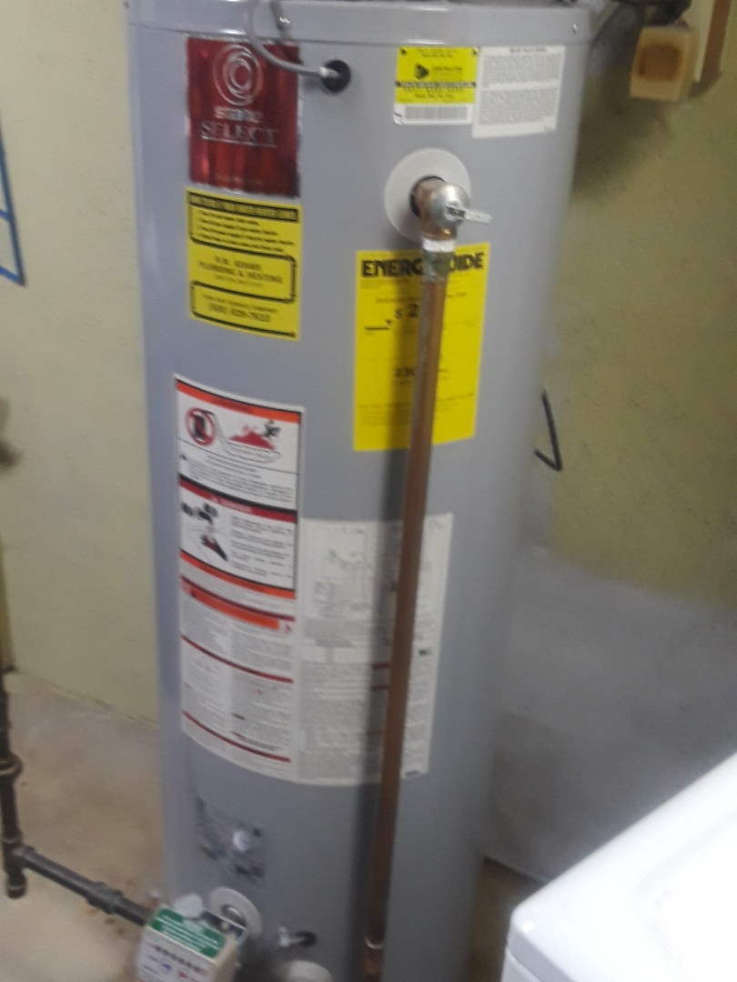 Repait on a State Select gas water heater