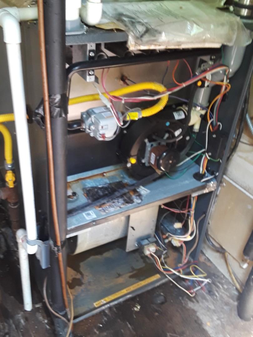 Grafton, MA - Blower replacement on a Goodman gas furnace