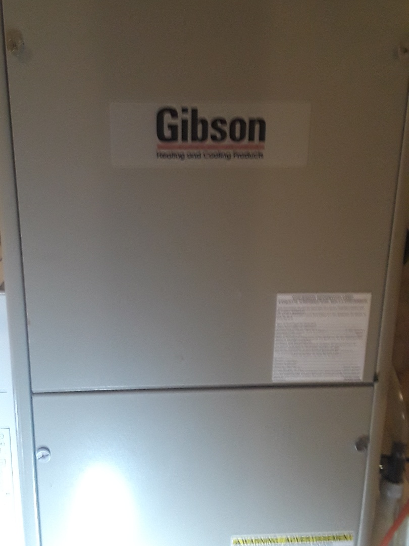 Ashby, MA - Repair on  Gibson AC unit