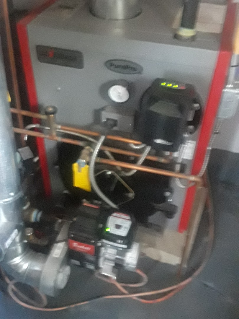 Leominster, MA - Clean and check PurePro Oil heating unit