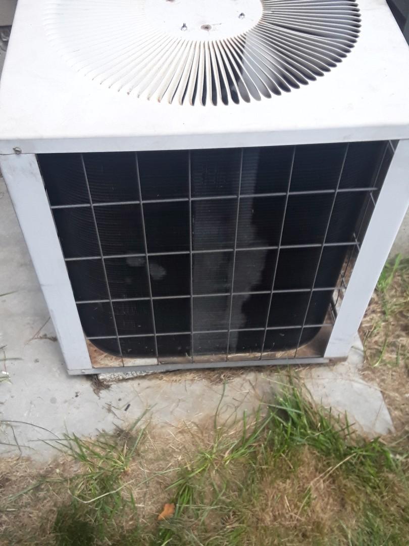 Shrewsbury, MA - Replace condenser fan motor in a Concord AC unit