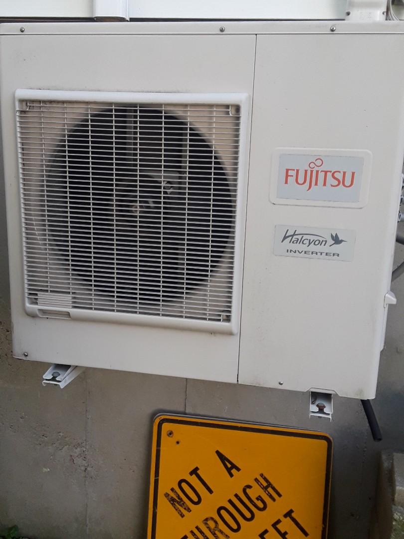 Shrewsbury, MA - Repair on a Fujitsu mini split unit