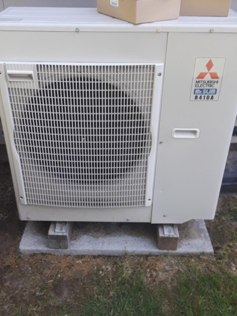 Auburn, MA - Repair on a Mitsubishi mini split unit