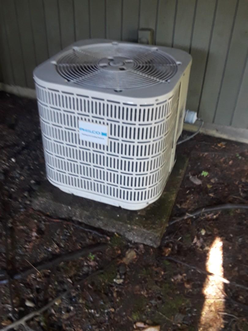 Westborough, MA - Clean and check Philco AC unit