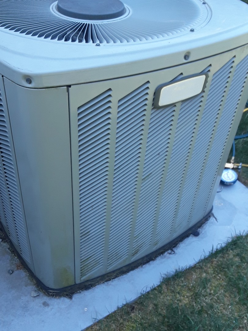 Westborough, MA - Repair on a American Standard AC unit