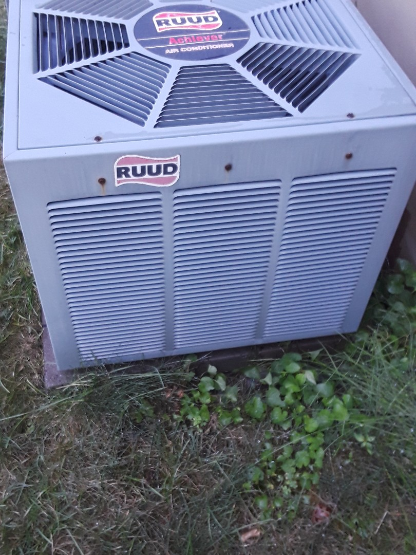 Grafton, MA - Clean and check Ruud AC unit