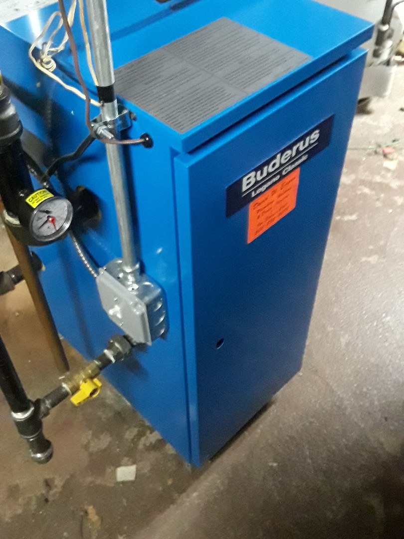 West Boylston, MA - Clean and check Buderus gas boiler