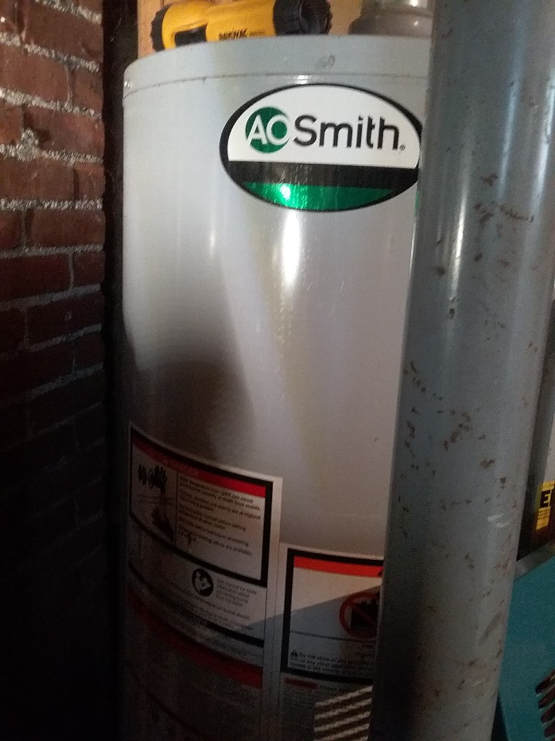 Millbury, MA - Service on an aosmith water heater
