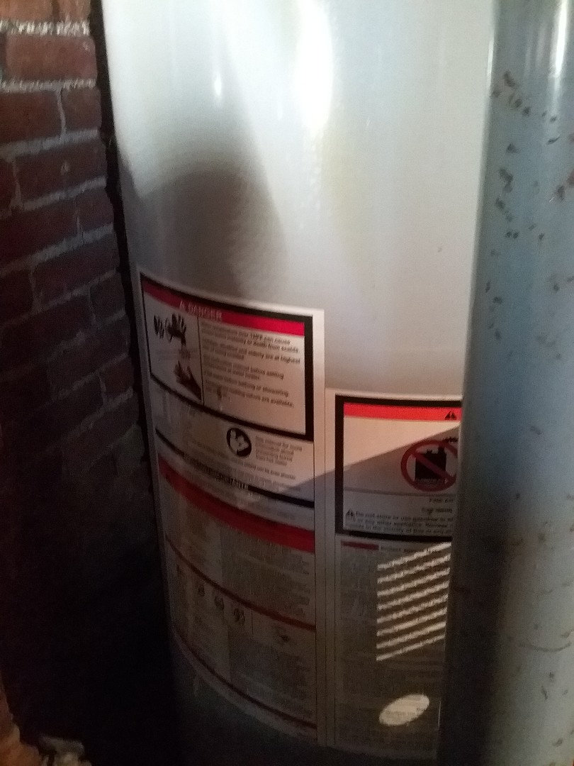 Millbury, MA - Service on an a o Smith water heater