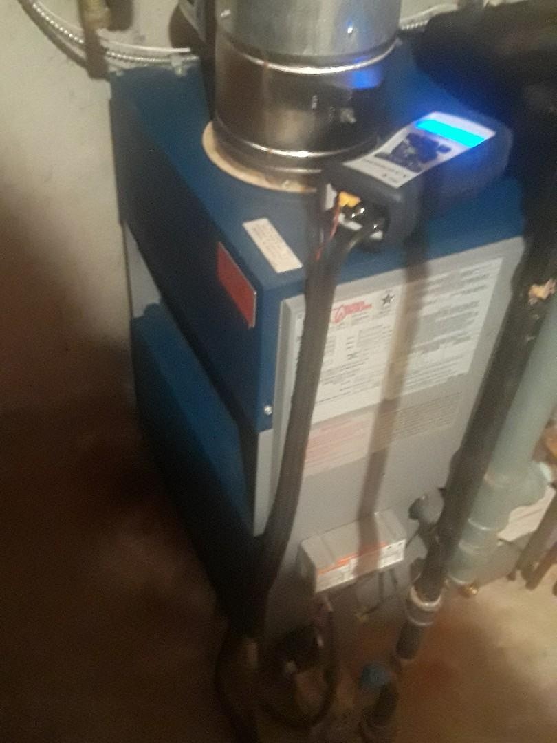 Shrewsbury, MA - Clean and check Utica gas heating unit