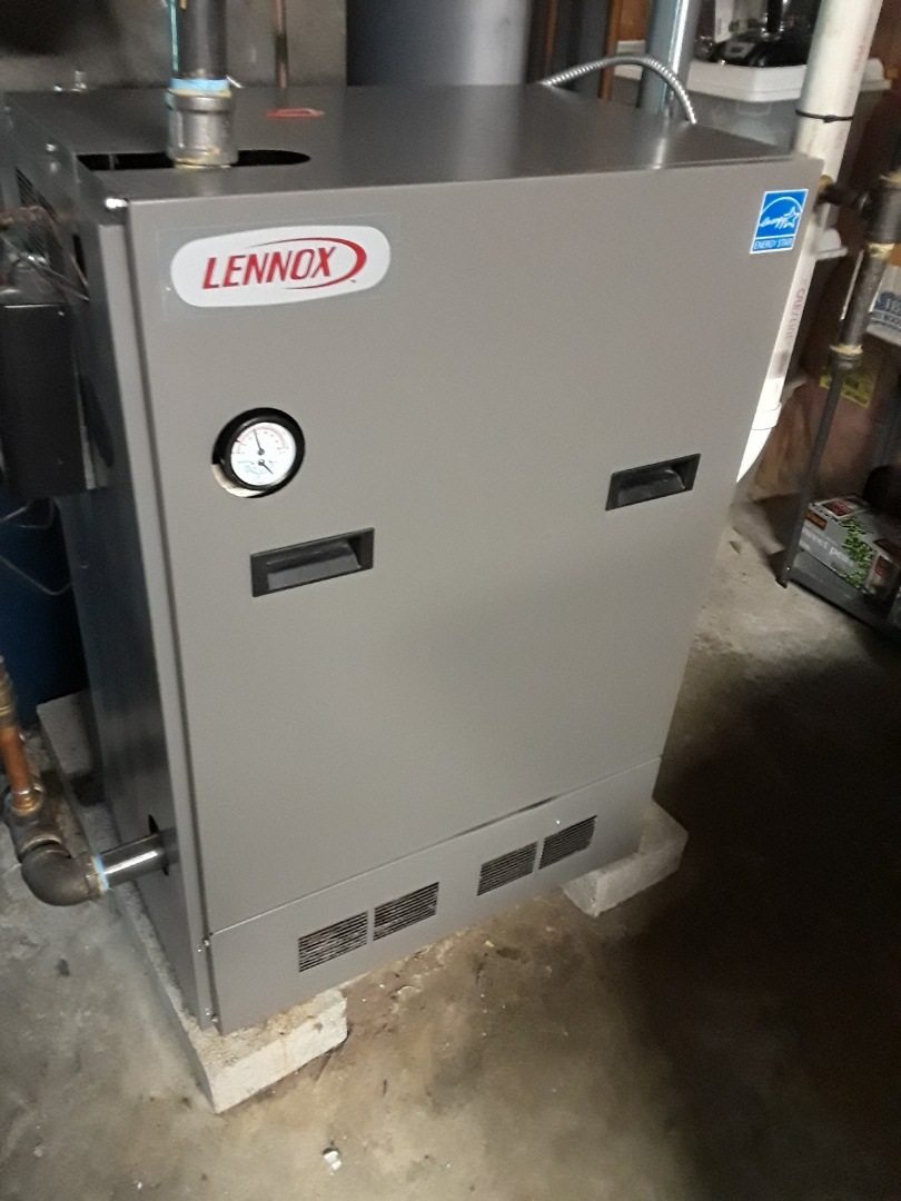 Leominster, MA - Clean and check Lennox Gas condensing boiler