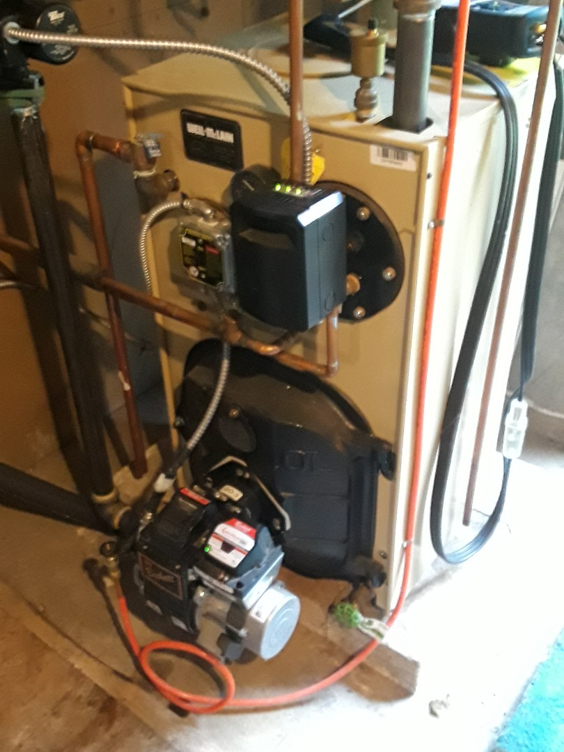 Sterling, MA - Clean and check Weil McLain oil boiler