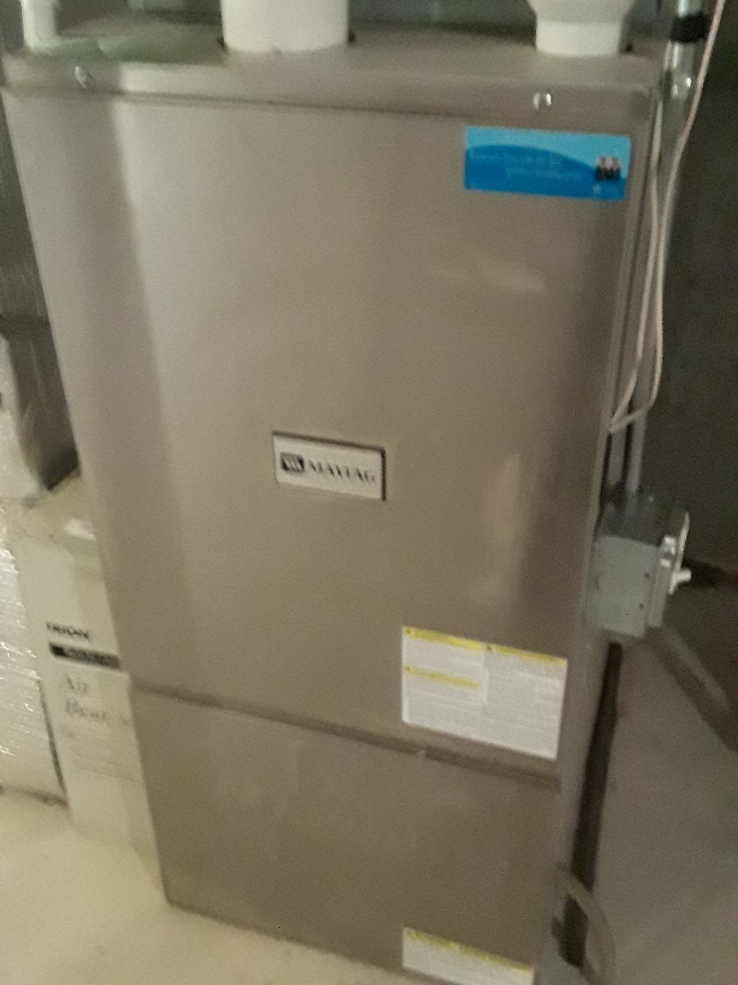 Leominster, MA - Clean and check Maytag gas furnace