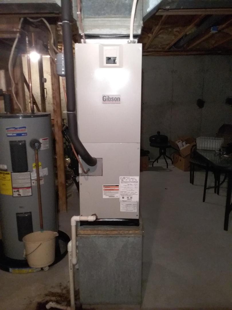Auburn, MA - Performed preventive maintenance on nordyne heatpump