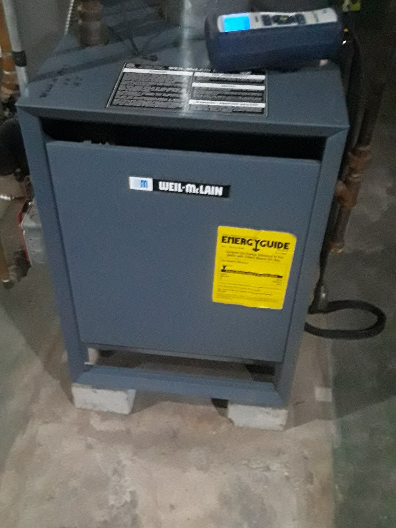Worcester, MA - Clean and check Weil McLain gas boiler