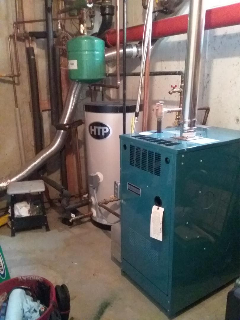 Hopkinton, MA - Perform preventive maintenance on Burnham gas boiler