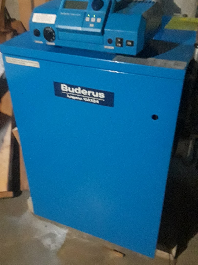 Fitchburg, MA - Clean and check Buderus gas boiler