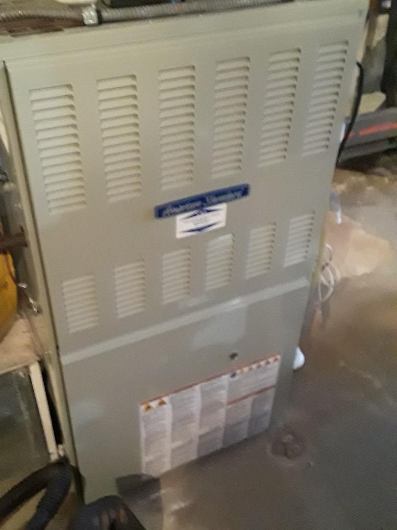 Westborough, MA - Clean and check American Standard Gar furnace