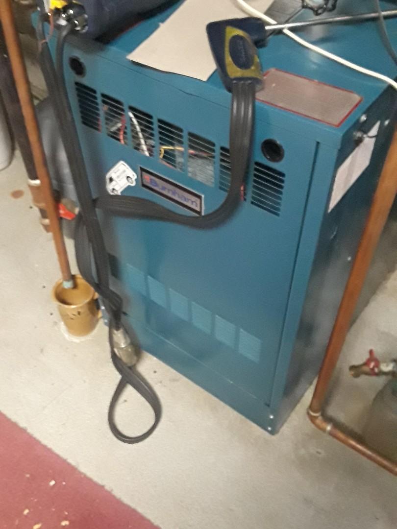 Marlborough, MA - Clean and check Burnham gas boiler