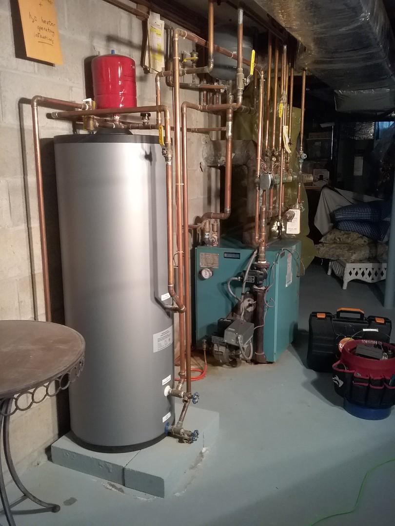 Hopkinton, MA - Performed preventive maintenance on Burnham oil fired forced hot water boiler