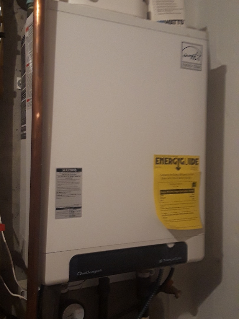 Westminster, MA - Repair on a TriangleTube gas boiler