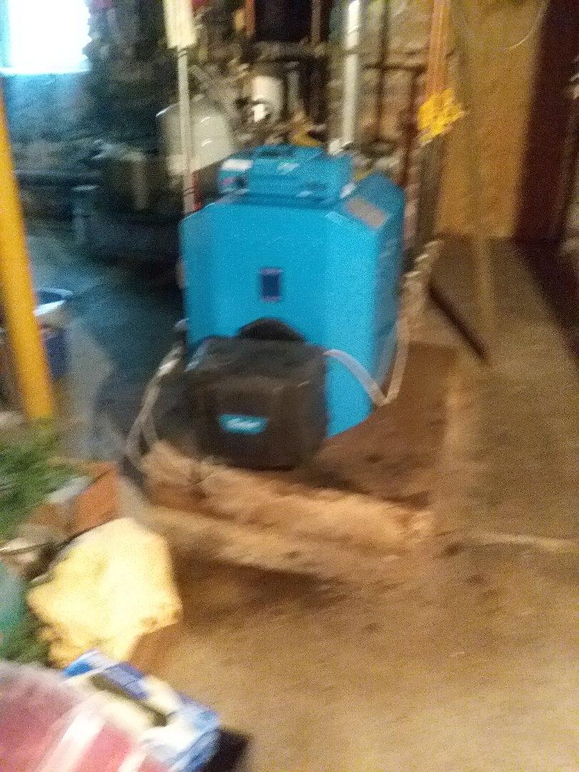 Millbury, MA - Service on a buderus oil boiler