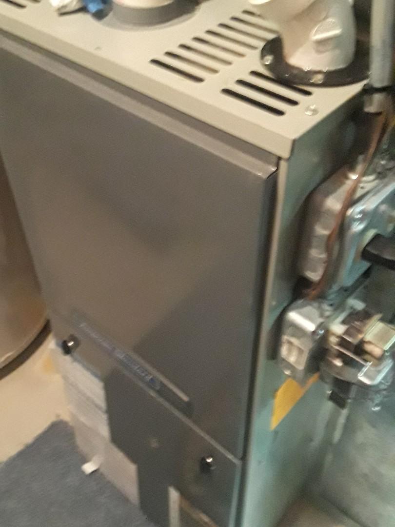 Marlborough, MA - Heat repair on a American Standard gas furnace