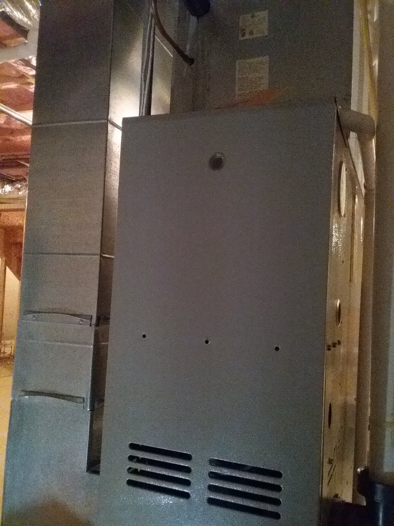 West Boylston, MA - Preventative maintenance on a Goodman furnace