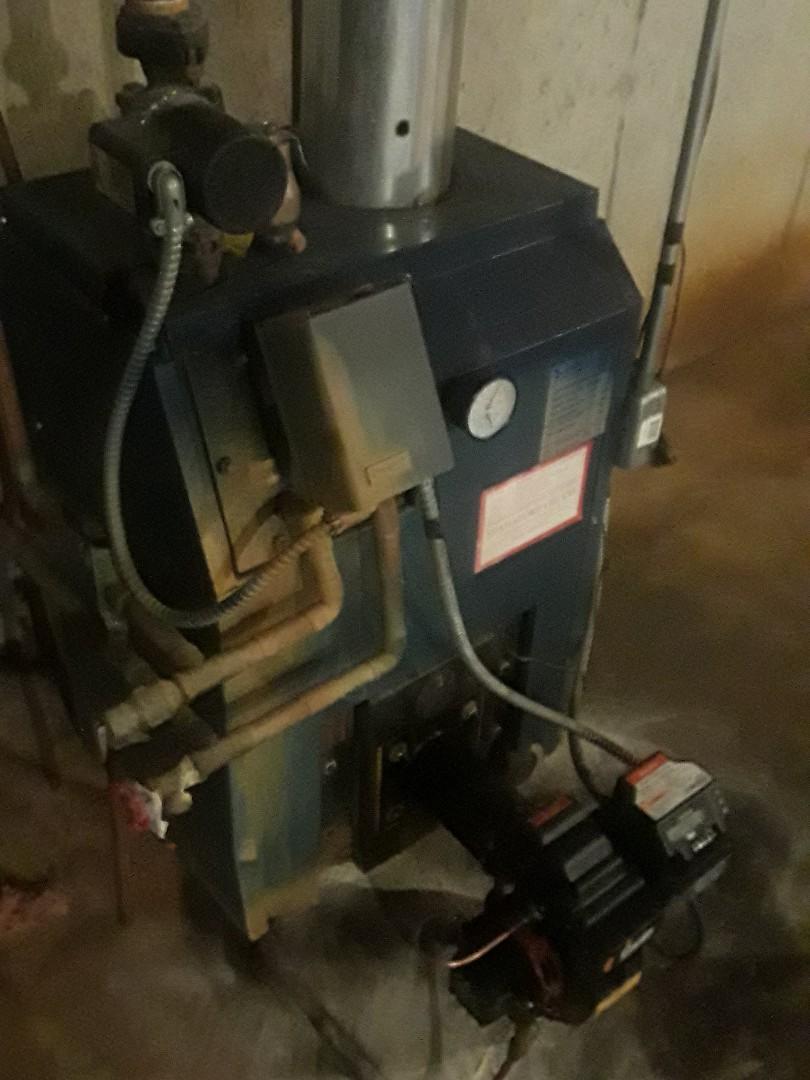 Leominster, MA - Heat repair on a Superior oil boiler