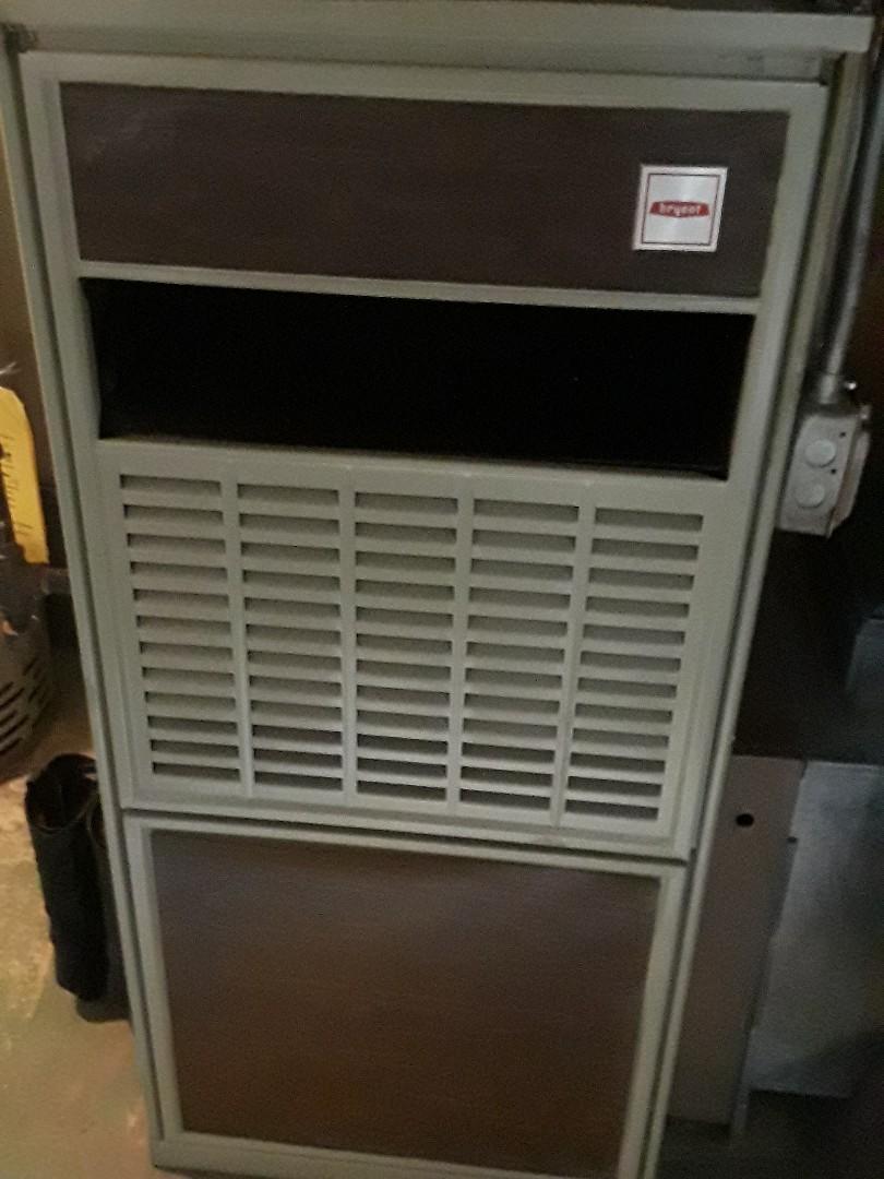 Marlborough, MA - Heat repair on a Bryant gas Furnace