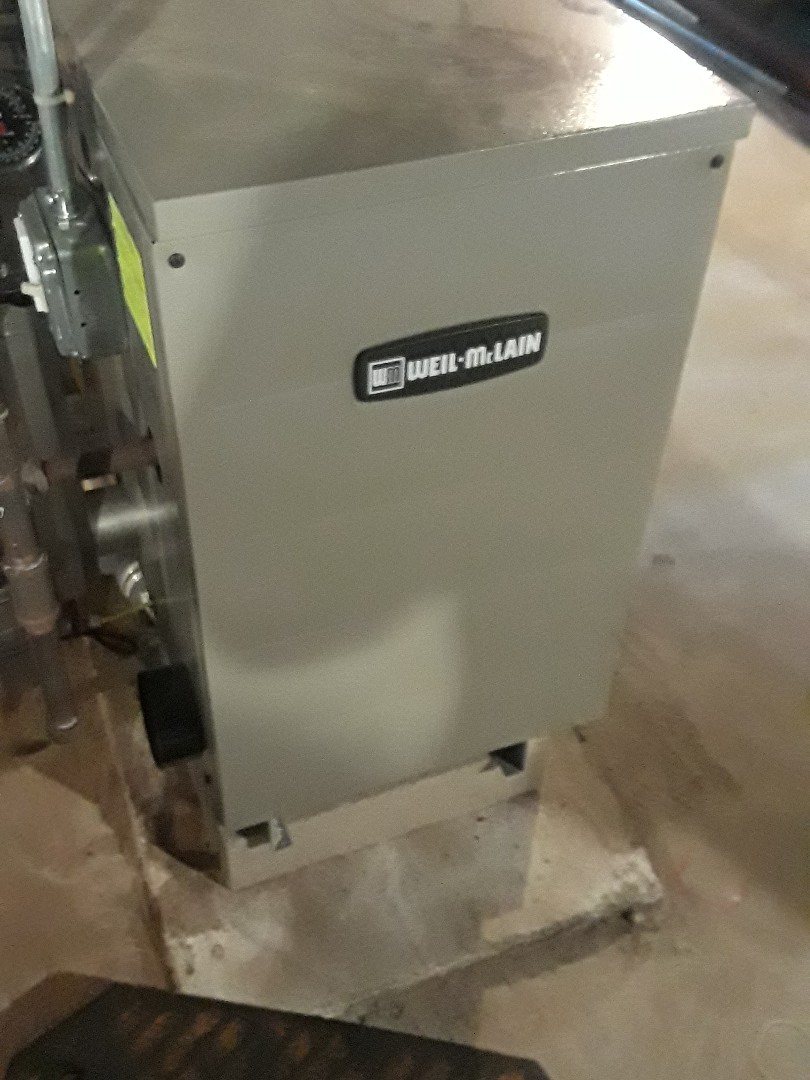 Westborough, MA - Repair on a Weil McLain gas boiler